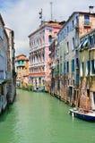 Venetiaans kanaallandschap Stock Afbeeldingen