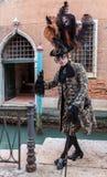 Venetiaans Kostuum Stock Afbeelding