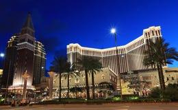 Venetiaans Macao-toevlucht-Hotel Royalty-vrije Stock Foto