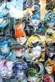 Venetiaans masker Rome Italië Stock Foto's