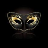 Venetiaans maskerconcept voor vrouw Royalty-vrije Stock Foto's