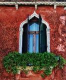 Venetiaans venster Stock Fotografie