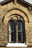 Venetiaans venster in Saltaire stock fotografie