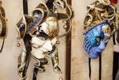 Venetiaanse beroemde maskers Royalty-vrije Stock Fotografie