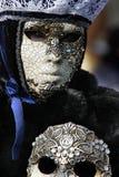 Venetiaanse Carnival3 stock foto's