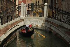 Venetiaanse gondel Royalty-vrije Stock Afbeelding