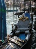 Venetiaanse gondel stock foto's