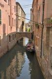 Venetiaanse gondel Royalty-vrije Stock Afbeeldingen