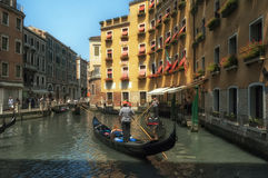 Venetiaanse Gondelieren Royalty-vrije Stock Fotografie