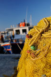 Venetiaanse haven in Irakleo Griekenland stock foto