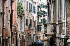 Venetiaanse huizen Royalty-vrije Stock Fotografie