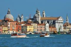 Venetiaanse kerken Stock Fotografie