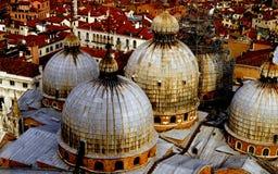 Venetiaanse koepels Royalty-vrije Stock Afbeeldingen