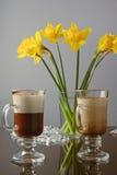 Venetiaanse koffie Stock Foto