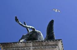 Venetiaanse leeuw stock afbeeldingen