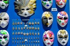 Venetiaanse maskers stock afbeelding