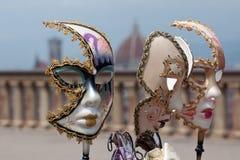 Venetiaanse maskers Royalty-vrije Stock Foto