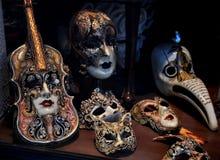 Venetiaanse maskers Royalty-vrije Stock Fotografie