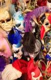 Venetiaanse Maskers - Achtergrond - Textuur stock foto's