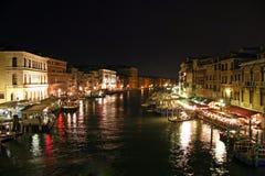 Venetiaanse nacht stock afbeeldingen