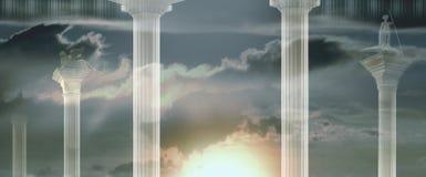 Venetiaanse Pijler Stock Afbeelding
