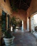 Venetiaanse pool in de Geveltoppen van het Koraal Royalty-vrije Stock Foto