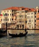 Venetiaanse silhouetten Royalty-vrije Stock Foto