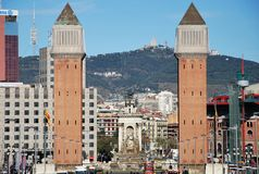 Venetiaanse torens Stock Afbeeldingen