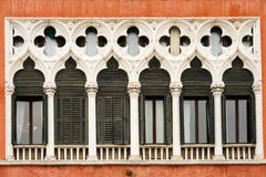 Venetiaanse vensters Stock Afbeeldingen
