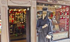Venetiaanse winkel, Venetië, Italië Stock Foto's