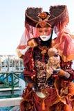 venetian женщина 3 Стоковые Фотографии RF