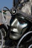 venetian маски серебряное стоковое фото rf