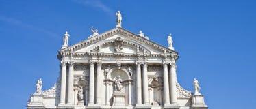 venetian церков statuary стоковое фото