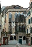 Venetian Apartment Building Stock Photography
