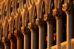 Venetian architectural detail Royalty Free Stock Photography