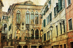 Venetian Architecture Royalty Free Stock Photo