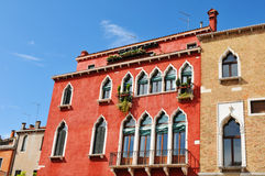 Venetian architecture Royalty Free Stock Photography