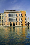 Venetian architecture. Typical buildings and architecture from Venice, Italy Stock Photos