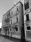 Venetian architecture on the canals. & x28;Venice, Italy& x29 Royalty Free Stock Photography