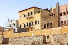 Venetian architecture of Chania on Crete Stock Photos