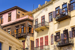 Venetian architecture of Chania on Crete. Greece Royalty Free Stock Image