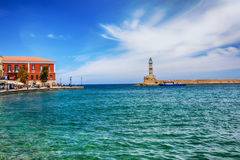 Venetian architecture in Chania, Crete, Greece Royalty Free Stock Photo