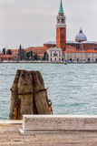 Venetian Architecture, Italy. Detail of a pier in Venice, Italy Stock Photography