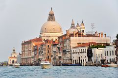 Venetian Architecture On The Grand Channel Royalty Free Stock Photography