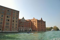 Venice, Giudecca island: Molino Stucky Royalty Free Stock Photo