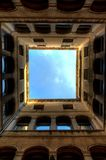 Venetian Architecture Perspective Frames Royalty Free Stock Photography