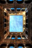 Venetian Architecture Perspective Frames. Frames made out of looking straight up at Venetian architecture Stock Images