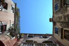 Venetian Architecture Perspective Frames Stock Photos