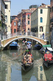 Venetian Architecture Venice Italy Canal Royalty Free Stock Photos
