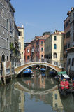 Venetian Architecture Venice Italy Canal Royalty Free Stock Photo